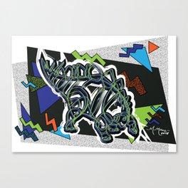 90s Stego Canvas Print