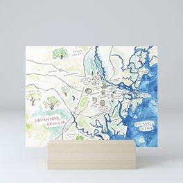Savannah, GA Mini Art Print