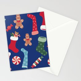 Hygge Holiday Pattern Stationery Cards