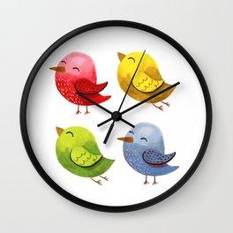 pajaricos Wall Clock