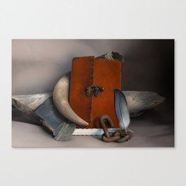 Rustic Still Life Canvas Print