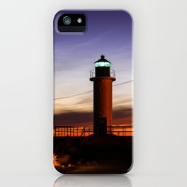 Will you be my light in dark ? iPhone Case
