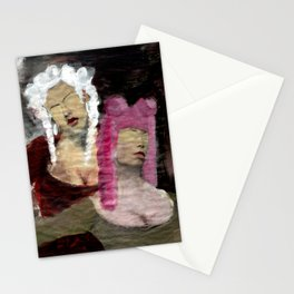 Dame/Newspaper Serie Stationery Cards