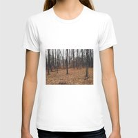 indiana T-shirts featuring Indiana Forest by Kurt Rahn