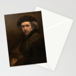 Rembrandt - Self-Portrait (1659) Stationery Cards
