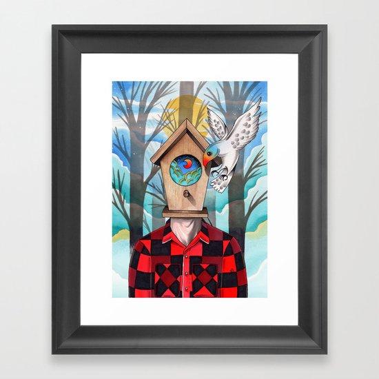 Valvonauta Framed Art Print