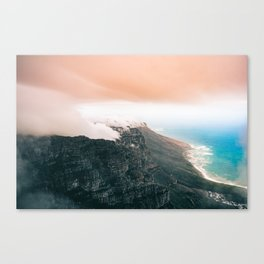 Table Mountain, South Africa Canvas Print