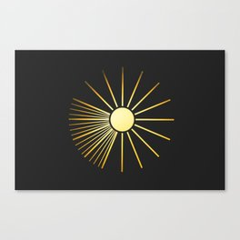Sun! Canvas Print