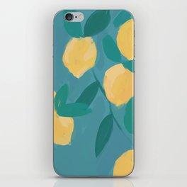 The Pastel Lemon View iPhone Skin