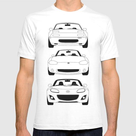 MX-5/Miata Generations T-shirt