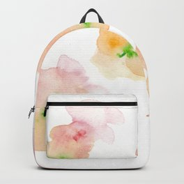 180807 Abstract Watercolour 5 | Colorful Abstract |Modern Watercolor Art Backpack