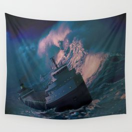 The Edmund Fitzgerald Wall Tapestry