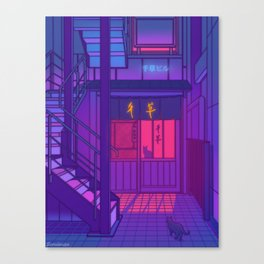 Lonely Nights Canvas Print