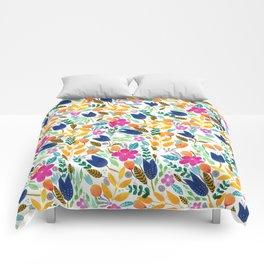 Flower Mayhem Comforters