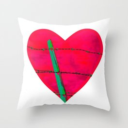 Guarded Throw Pillow