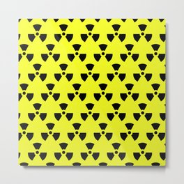 Radiation Pattern Metal Print
