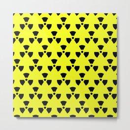 Radiation Pattern Metal Print