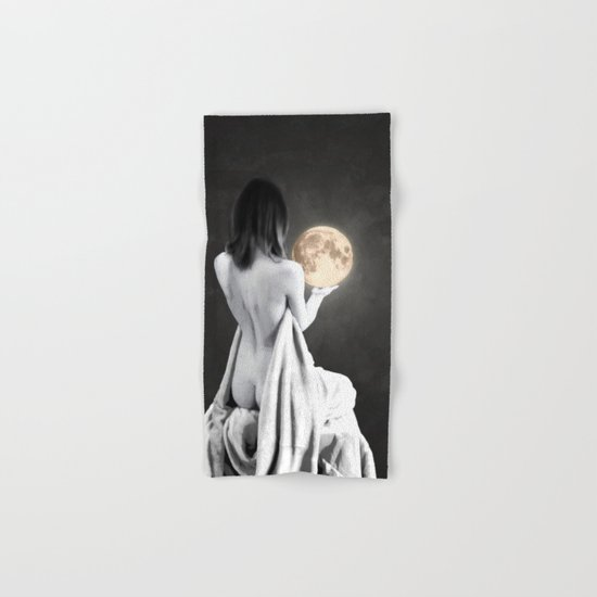 Moon Contemplation Hand & Bath Towel