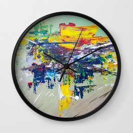 Equestria: Exciting Countryside Abstract Wall Clock