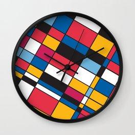 Squares M1 Wall Clock
