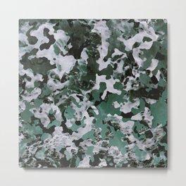 Surfing Camouflage #4 Metal Print