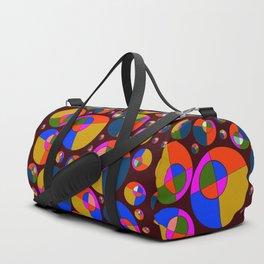 Bubble pink & blue 07 Duffle Bag
