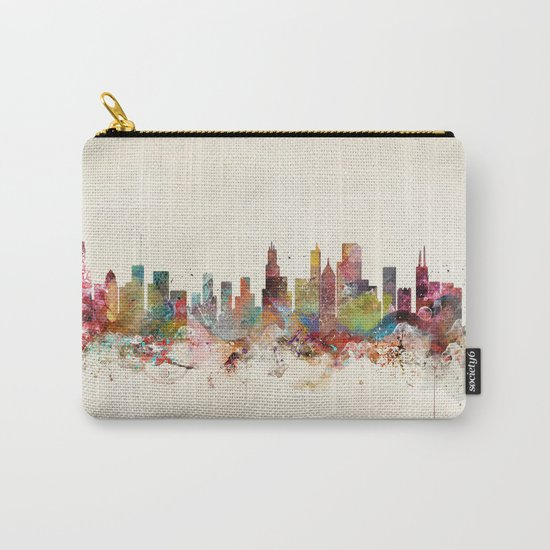 chicago illinois Carry-All Pouch