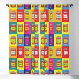 Baked Beans Retro Pop Art Blackout Curtain