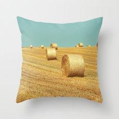 FIELDS OF GOLD / 2 Throw Pillow