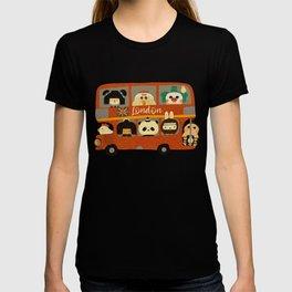 London bus - London city Big Ben jack Union I love England holiday T-shirt
