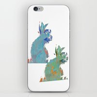 rabbits iPhone & iPod Skins featuring rabbits by Geckojoy