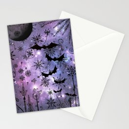 Halloween Snowflakes Stationery Cards