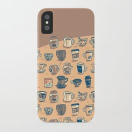 Coffee & Tea & Butts iPhone Case