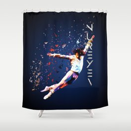 Fanfare for Nureyev Shower Curtain