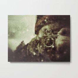 Minox man Metal Print