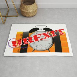 Brexit Time Bomb Rug