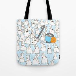 Dust bunnies Tote Bag