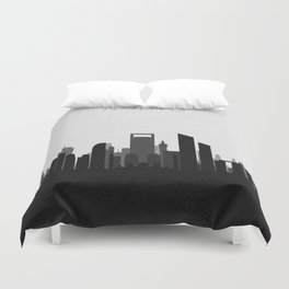 City Skylines: Abu Dhabi (Alternative) Duvet Cover