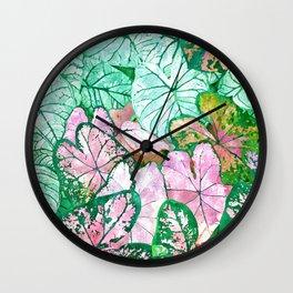 Rain + Nature Wall Clock