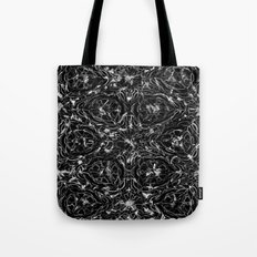 Black and white astral paint 5020 Tote Bag