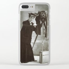 Jessie Tarbox Beals Clear iPhone Case
