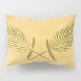 Peacock Batik Pillow Sham