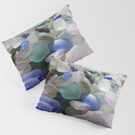 Sea Glass Assortment 6 Pillow Sham