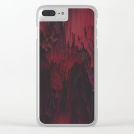 Sangre Clear iPhone Case