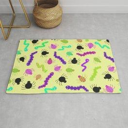 Crawlies - Yellow Rug
