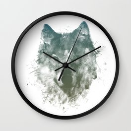 Wolf Like Me Wall Clock