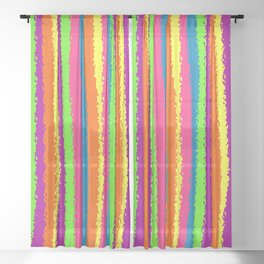 Crazy Colorz Sheer Curtain