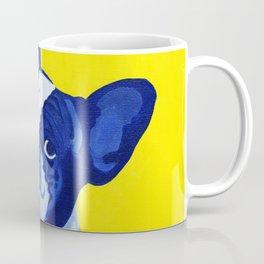 Blue French Bulldog Coffee Mug