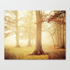 I Heard Whispering in the Woods Canvas Print