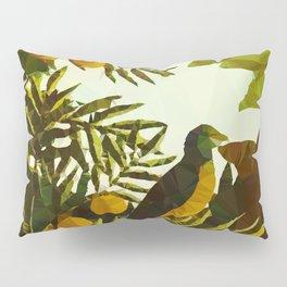 Bird in Tropical Jungle After Rousseau Pillow Sham
